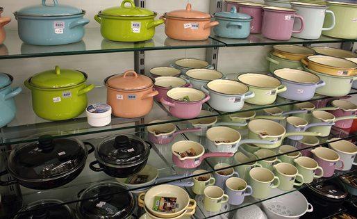 Austrian Riess Enamel cookware