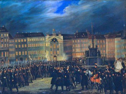 Prince Metternich 1848 revolution in Vienna