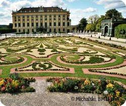 Baroque Gardens: Kronprinzengarten of Schonbrunn Palace, Vienna