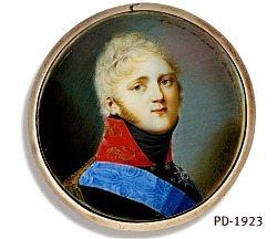 Russia's Tsar Alexander I