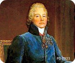 French statesman Maurice de Talleyrand-Perigord