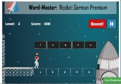 Learn German Software: Rocket German Game
