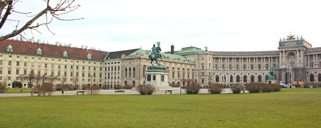Heldenplatz of Imperial Palace, Vienna